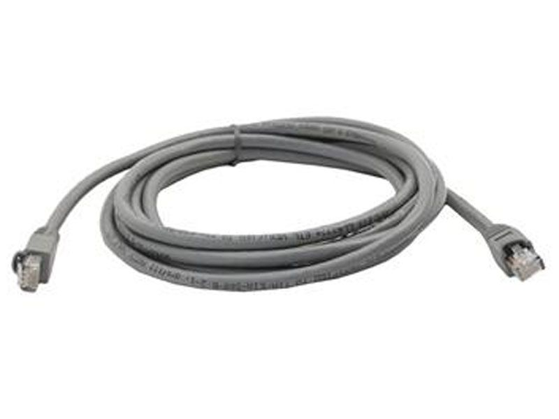Grey 25ft RJ45 Cat5e 350MHz Molded Patch Cable